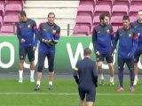 Alexis Sánchez vuelve a los entrenamientos
