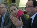 Reportage à l'occasion de la visite de scientifiques français membres du GIEC