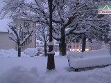 Neige en grande quantité à Saint Jean de Maurienne le Vendredi 7 Décembre 2012