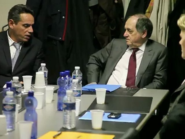 Noël Le Graet le président de la FFF en visite au District de Seine Saint-Denis