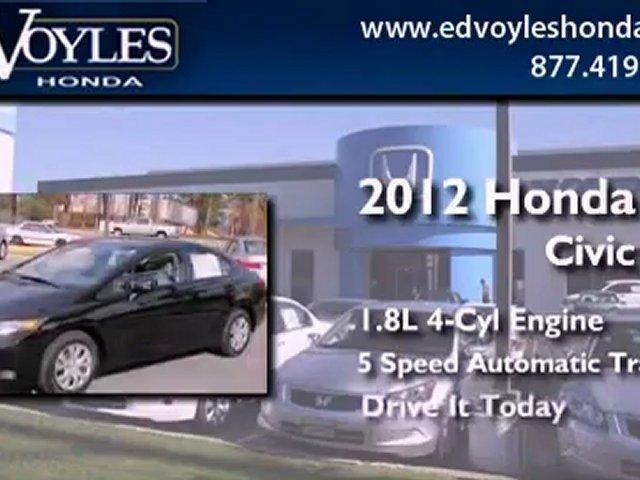 Honda Civic Atlanta, GA   Ed Voyles Honda