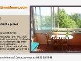 A vendre - appartement - Saint-Raphaël (83700) - 2 pièces