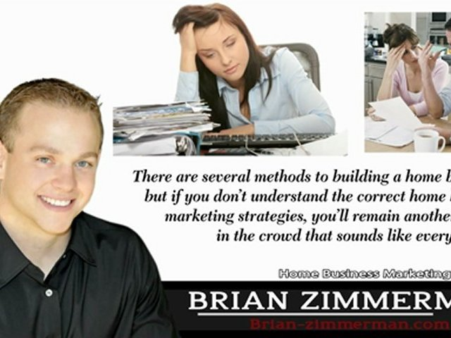 Home Business – Home Business Marketing Strategies