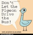 Humour Book Review: Don't Let the Pigeon Drive the Bus! by Mo Willems