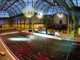 Début d'installation du Grand Palais des Glaces 2012