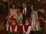 Obamas attend charity holiday concert