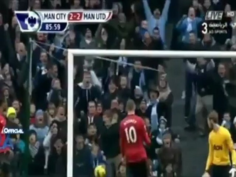 Agen Casino Online-Cuplikan Gol Liga Inggris Manchester City vs Manchester United 2-3 2012