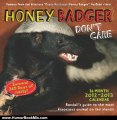 Humour Book Review: Honey Badger Don't Care 2013 Wall Calendar: 16-Month 2012-2013 Calendar by Randall