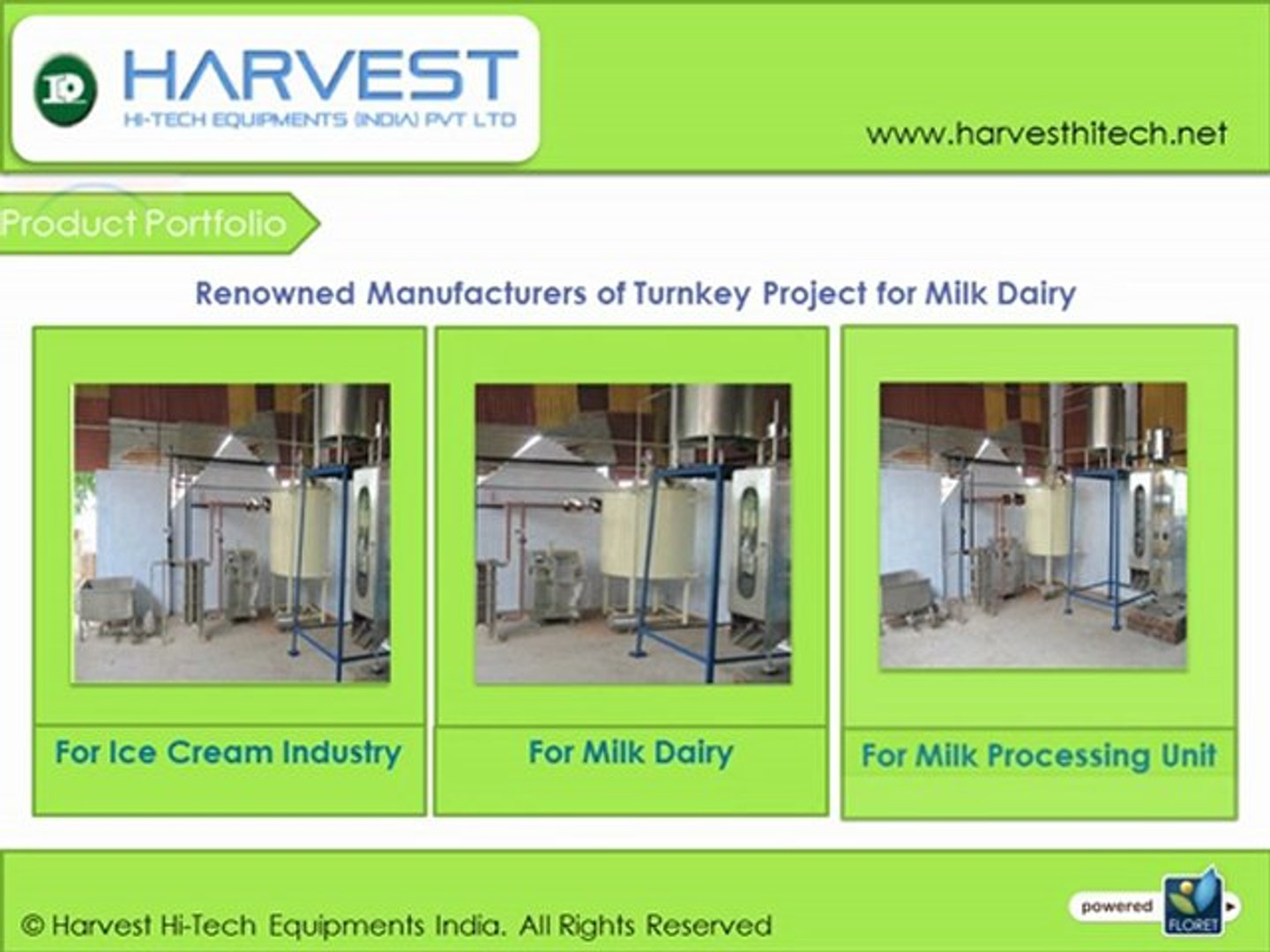 Harvest manufacturers products