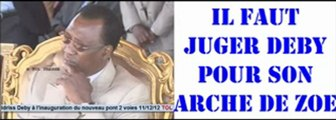 Il fallait juger Idriss Deby Itno Khamiss et son Arche de Zoé – TOL