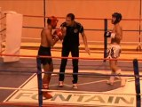 jeremy finale kick boxing champion rhone alpes 2012 fight club septème & oytier