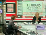 10/12 BFM : Le Grand Journal d'Hedwige Chevrillon - Henri Giscard d'Estaing et Nicole Bricq 4/4