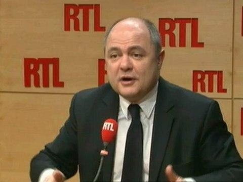 Bruno Le Roux L'invité de RTL 11 decembre 2012