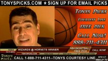 New Orleans Hornets versus Washington Wizards Pick Prediction NBA Pro Basketball Preview 12-11-2012