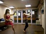 choregraphie danse orientale kamilia et moi 4