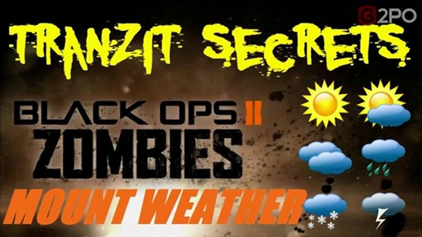 Black Ops 2 Zombies Tranzit Secret Locations - ▷ ▷ PowerMall