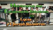 MEI St Jospeh Hasparrren_réalisation d'un portail pour l'école Ste Jeanne d'ARC
