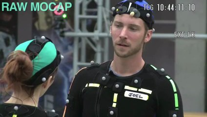 Motion capturing main character acting de The Last of Us