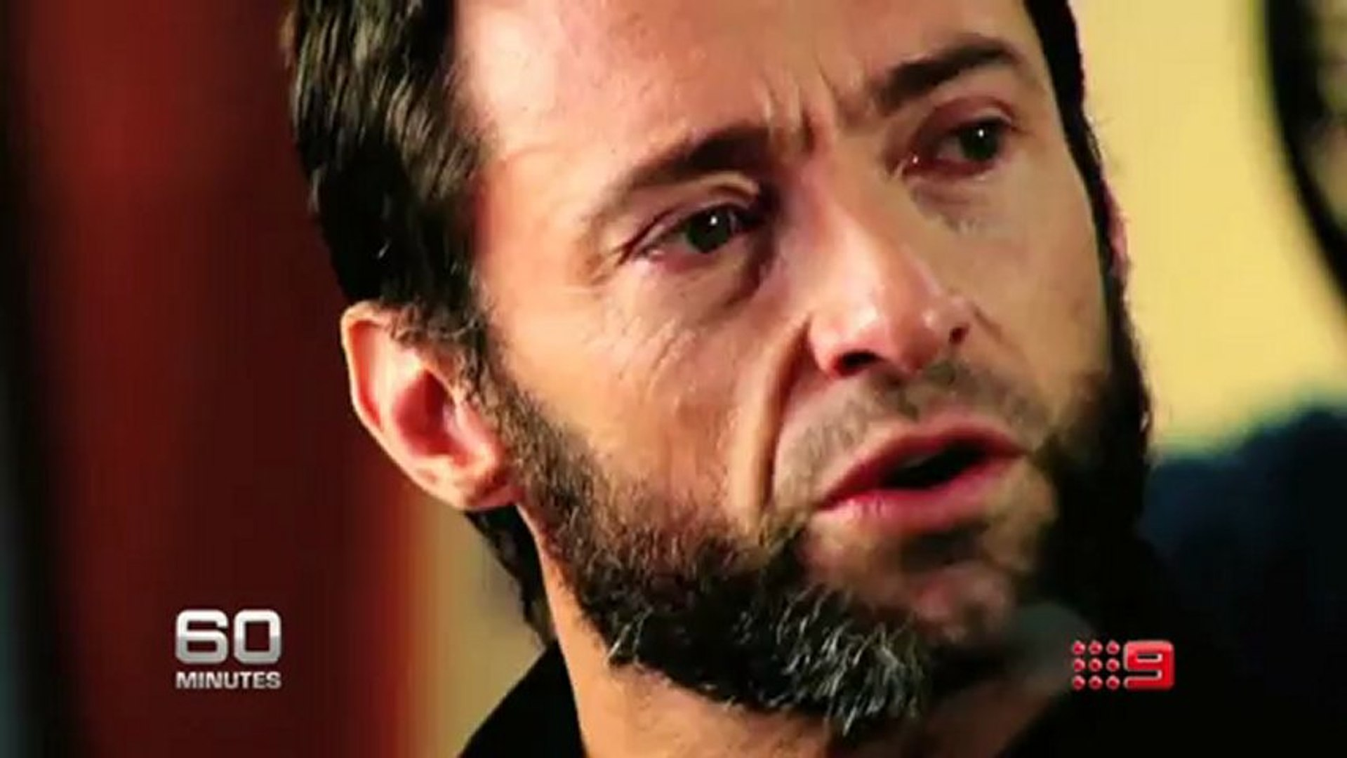 60 Minutes Hugh Jackman Caught Off Guard Opening Up Like Never Before Video Dailymotion