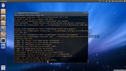Ubuntu: Live Hintergrundbild