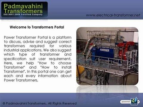 Electrical Transformer manufacturers