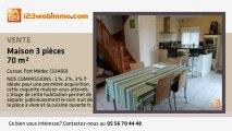 A vendre - maison - Cussac Fort Médoc (33460) - 3 pièces -