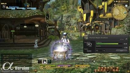 Gathering and Crafting de Final Fantasy XIV: A Realm Reborn