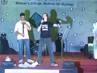 Rise of the Zombie at Bhavans College Part 1