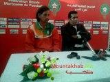 Conférence de presse après match Maroc-Niger