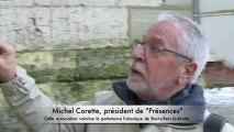 Brunvillers-la-Motte: l'église Saint-Michel, étape autrefois pour les chemins de Saint-Jacques de Compostelle