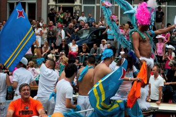 Amsterdam Gay Pride 2012, imagery and exposure 2-   - jfm8561 present