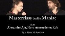 Masterclass MANIAC - Alexandre Aja, Nora Arnezeder et Rob [VF HD] [NoPopCorn] (11-12-2012) (HD)