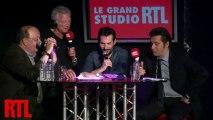 Laurent Gerra, Bernard Mabille et Régis Mailhot dans le Grand Studio RTL présenté par Laurent Boyer