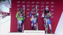 Esquí - Lara Gut gana el descenso  y Vonn sufre un accidente sin consecuencias