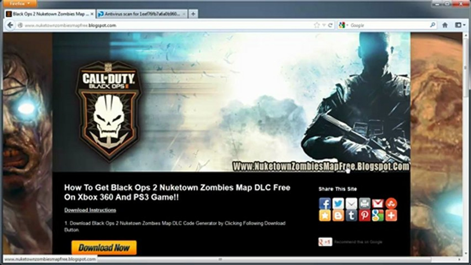 black ops 2 nuketown zombies free code ps3