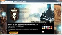 Black Ops 2 Nuketown Zombies Map DLC Free Xbox 360 - PS3