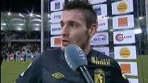 Interview de fin de match : Stade de Reims - LOSC Lille - saison 2012/2013