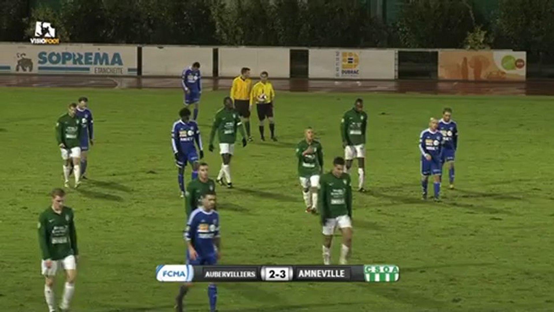 FCM Aubervilliers 2 - 3 Amneville CSO (15/12/2012)