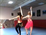 chorée danse orientale belly dance kamilia et espana melissa