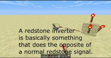 Redstone Inverter Tutorial - Minecraft Redstone Tutorial apps