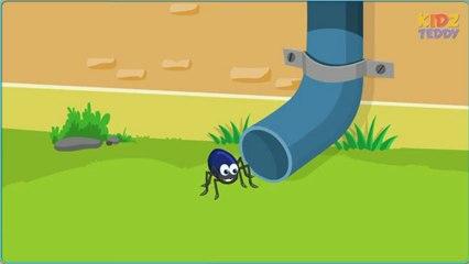 Incy Wincy Spider (Itsy Bitsy Spider) - Nursery Rhymes With Lyrics