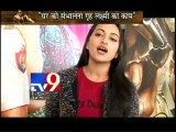 Exclusive Interview of Sonakshi Sinha aka Mrs. Rajjo Chulbul Pandey of Dabangg 2 with Pankaj Shukla-TV9
