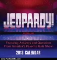 Fun Book Review: Jeopardy! 2013 Day-to-Day Calendar: Featuring Answers and Questions From America's Favorite Quiz Show by Sony