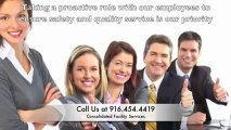 Janitorial Services in Sacramento CA | Consolidated Facility