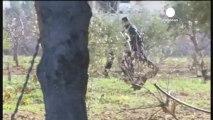 Los rebeldes sirios ganan terreno en Alepo