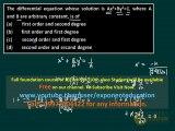 IIT JEE Differential equation concepts, Maths CBSE 11, CBSE 12 preparation, Maths MCQs