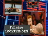 Sheamus vs Big Show Chair match Tables Ladders Chairs 2012
