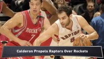 Lakers Top 76ers; Raptors Drop Rockets