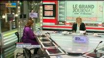 17/12 BFM : Le Grand Journal d'Hedwige Chevrillon - Sandra Le Grand et Jean-Marie Chevalier 1/4