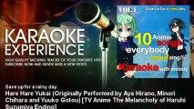 Save up for a rainy day - Hare Hare Yukai (Originally Performed by Aya Hirano, Minori Chihara and Yu